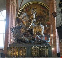 35514 stockholm storkyrkan  st george and the dragon