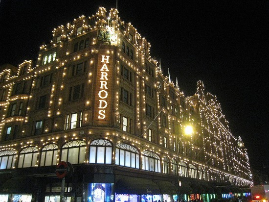 Photo Londres Fachada De Harrods In London Pictures And