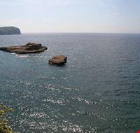35817 vista sulla baia del porto isola di ventotene