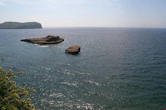 Vista sulla baia del porto