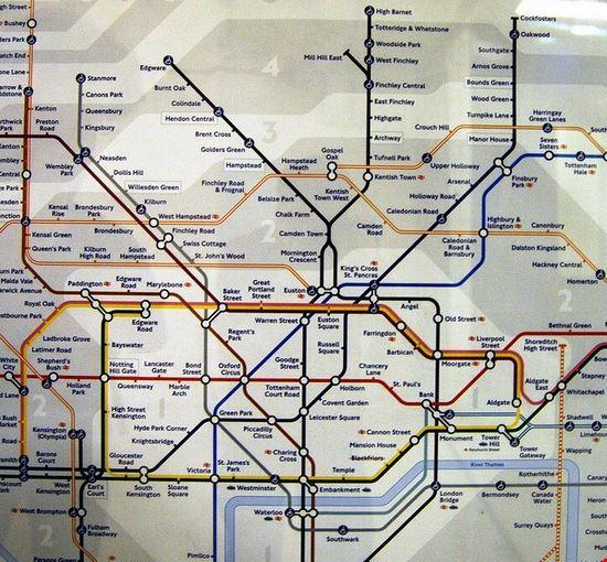 35835 londres mapa del metro de londres