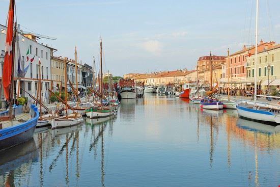 Hafen in Cesenatico