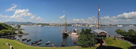 Oslo vu de Bygdøy