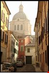 mantua kirche s andrea im nebel