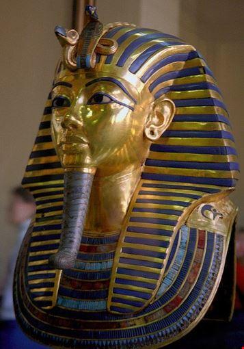 Tutankhamun on display at Museum of Egyptian Antiquities