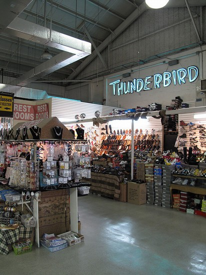 swap shop thunderbird and indoor flea market