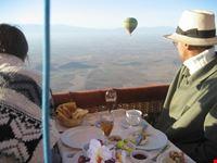 Royal ballooning trip over MArrakech