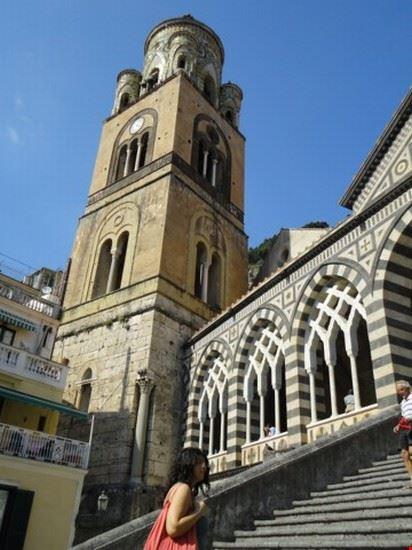 campanile cattedrale amalfi