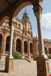 sevilla das rathaus auf dem plaza de san francisco in sevilla