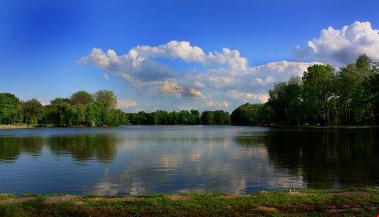 il laghetto artificiale di Nowa Huta