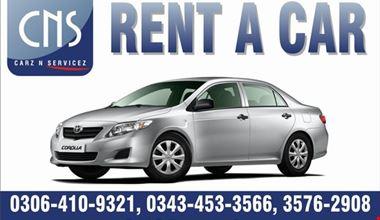 CNS Rent a Car Lahore