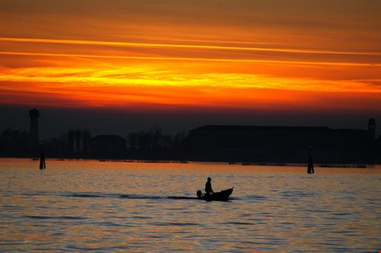 37247 tramonto a venezia venezia