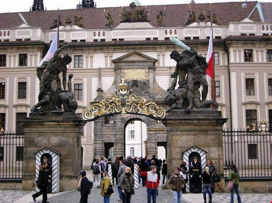 37337 castello hradcany entrata principale praga