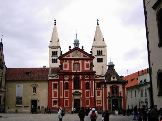 37365 castello hradcany basilica di s giorgio praga