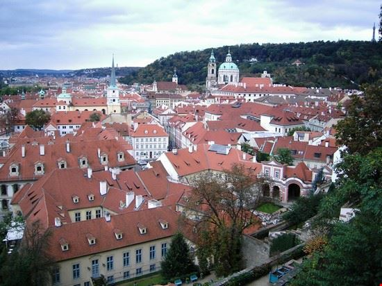 37381 castello hradcany panorama sulla citta praga