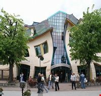 The Crooked House in Sopot