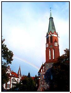 37416 sopot st george  s church in sopot
