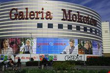 Galeria Mokotow Shopping Center in Warsaw