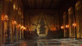 palazzo reale interni stoccolma
