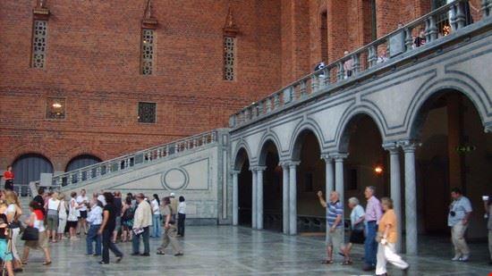 37457 palazzo reale atrio stoccolma