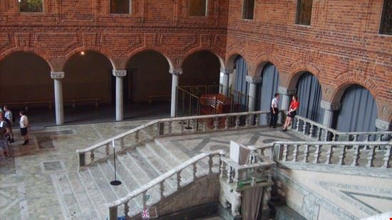 37461 palazzo reale atrio stoccolma