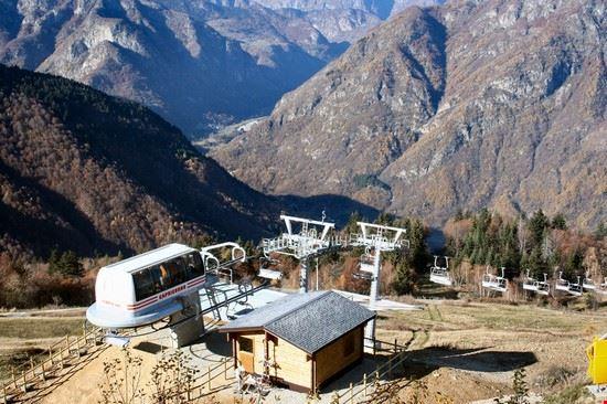 Seggiovia sull'Alpe Mera