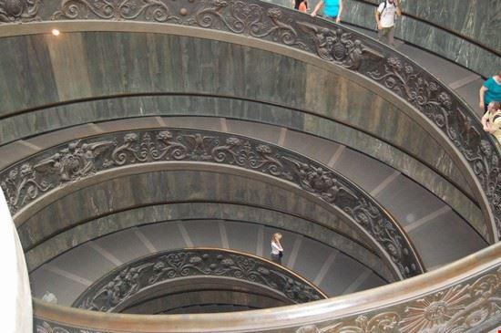 Musei Vaticani - Scala d'ingresso