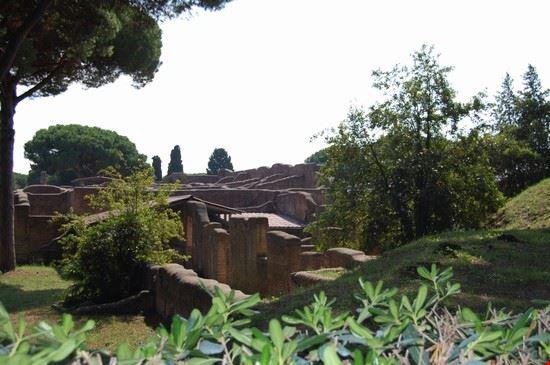Area degli scavi etruschi