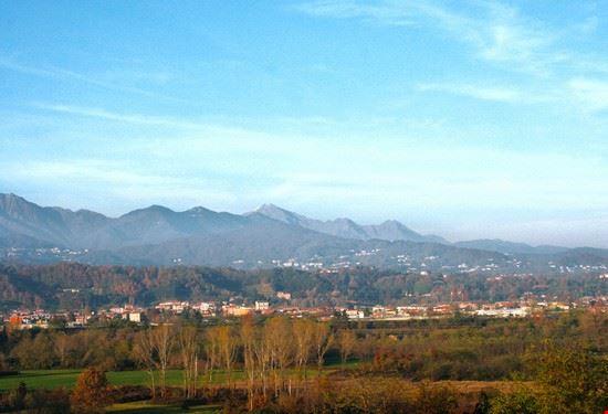 Vista del Biellese dalla Torre del Ricetto