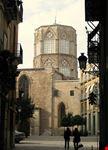 valencia gasse die zur kathedrale fuehrt