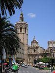 valencia sicht auf die kathedrale