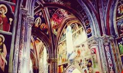 Interno basilica santa Caterina d'Alessandria galatina puglia