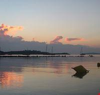 palma di maiorca tramonto dalla spiaggia di pollenca