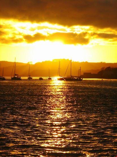 plymouth sonnenuntergang in europas groesstem naturhafen