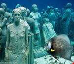 cancun estatuas submarinas