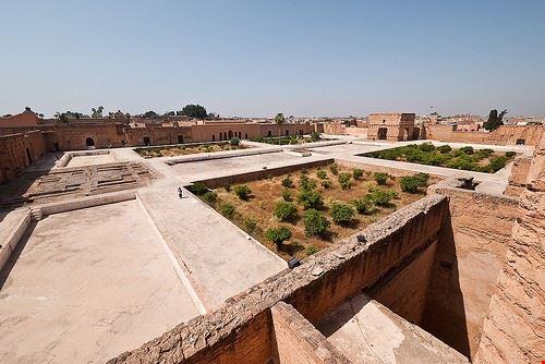38245 marrakech el badi palace