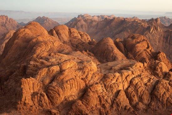 Panorama dal Monte Sinai