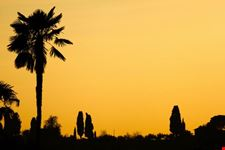 tramonto nei pressi del piazzale michelangelo firenze