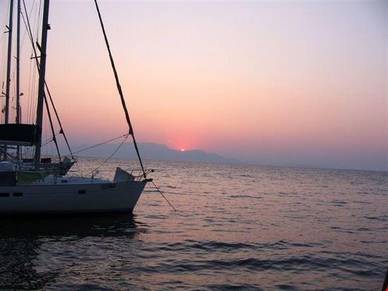 zacinto paxos in barca a vela