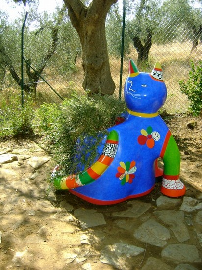 Foto giardino dei tarocchi a capalbio 412x550 autore marianna daniele 8 di 16 - Giardino dei tarocchi capalbio ...