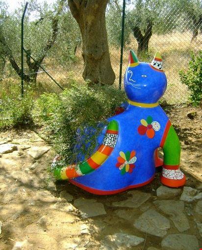 Foto giardino dei tarocchi a capalbio 412x550 autore marianna daniele 8 di 16 - Capalbio giardino dei tarocchi ...