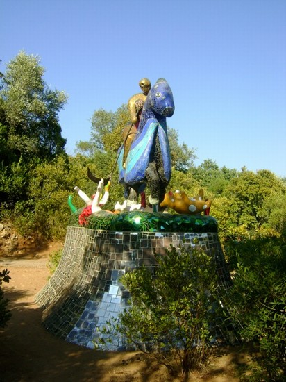 Foto giardino dei tarocchi a capalbio 412x550 autore marianna daniele 13 di 16 - Capalbio giardino dei tarocchi ...