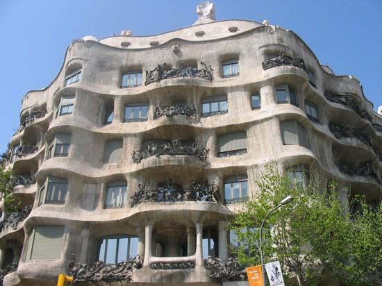 Foto casa batlo e petrera a barcellona 550x412 autore for Villaggi vacanze barcellona