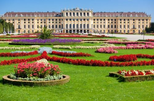 vienne chateau de schoenbrunn a vienne