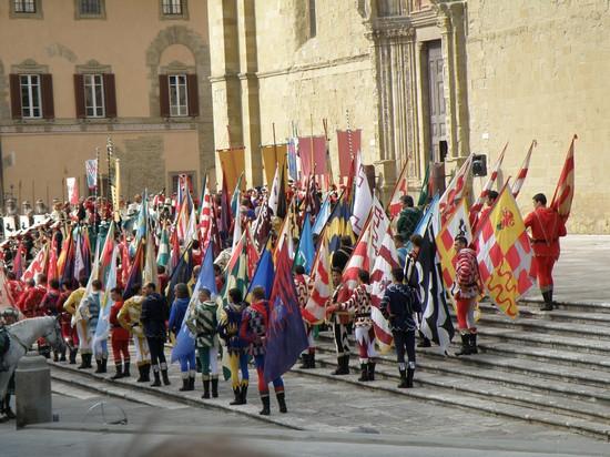 Inaugurazione Museo di Porta Santo Spirito: il. - Giostra del 68