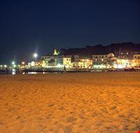 Scorcio notturno della spiaggia di Marina di Campo