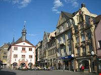 bad kissingen marktplatz in bad kissingen mit altem rathaus