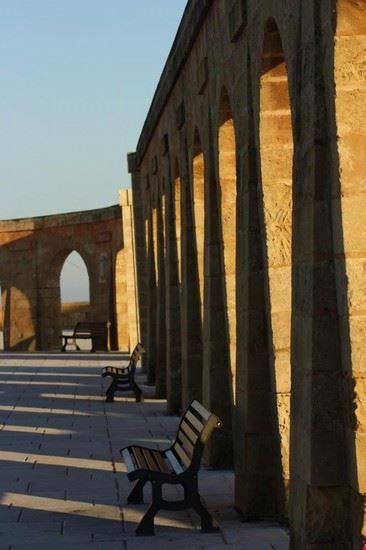 Leuca - piazza del santuario