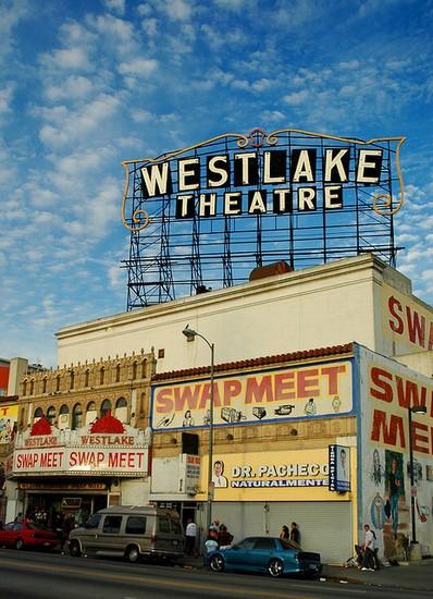 Westlake Theatre Swap Meet Los Angeles