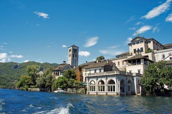 Isola di San Giulio. Lago d'Orta